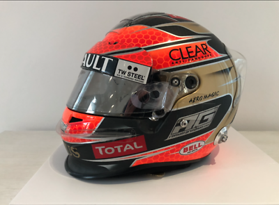 Original Helmet F1 - Romain Grosjean - Lotus F1 2012