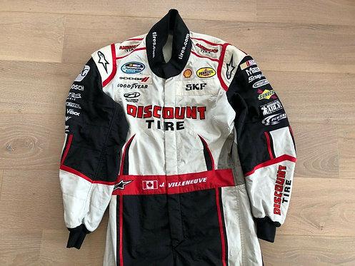 Original Race used suit - Jacques Villeneuve - Nascar Nationwide - Penske 2012