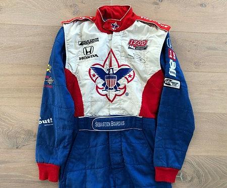 Race used suit Indy Car - Sebastien Bourdais - Signed - Dale Coyne Racing 2011