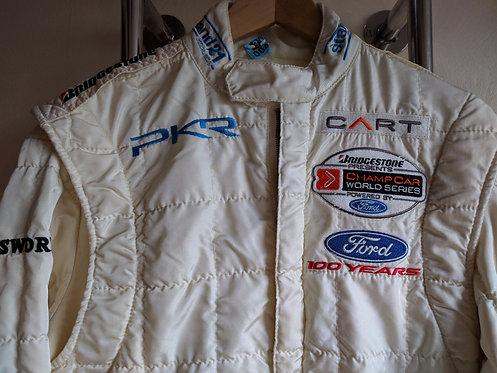 Driver Suit used : Patrick Lemarié - Indy Car - PKR Racing