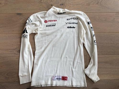 Original nomex used - Bruno Senna - Williams F1