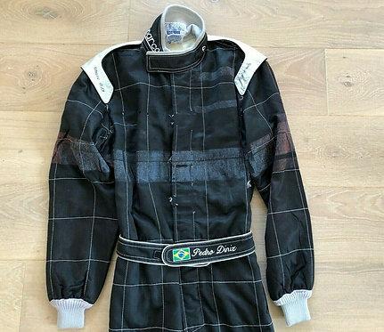 Original Suit Used Testing - Pedro Diniz - Arrows F1