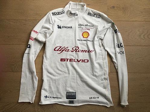 Nomex Race F1 - Kimi Raikkonen - Sauber Alfa Romeo F1 - 2019 - Sparco