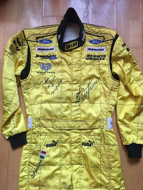 Original Suit Race - G Pantano - Signed - Jordan F1