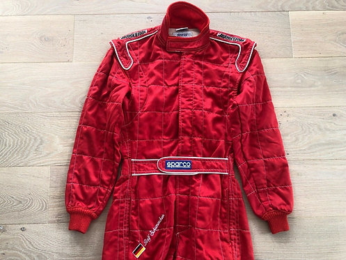 Original Suit Used Testing - Ralf Schumacher - first test Williams F1