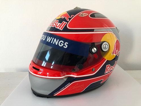 Helmet race  Vitantonio Liuzzi Red Bull 2005