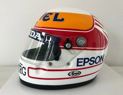 Helmet replica : Satoru Nakajima - Lotus F1 - 1989 - Arai