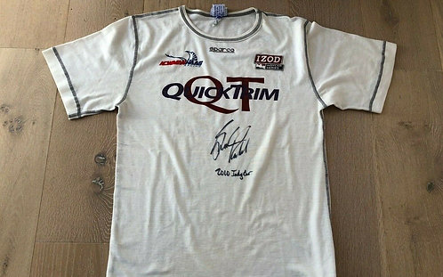Nomex Race used - Graham Rahal 2010 newman Haas - Signed