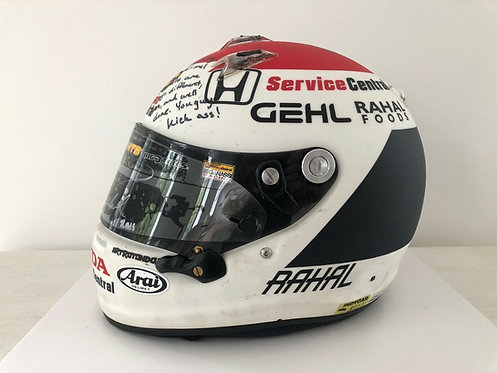 Race used helmet - Graham Rahal - Signed - Indy Car 2011