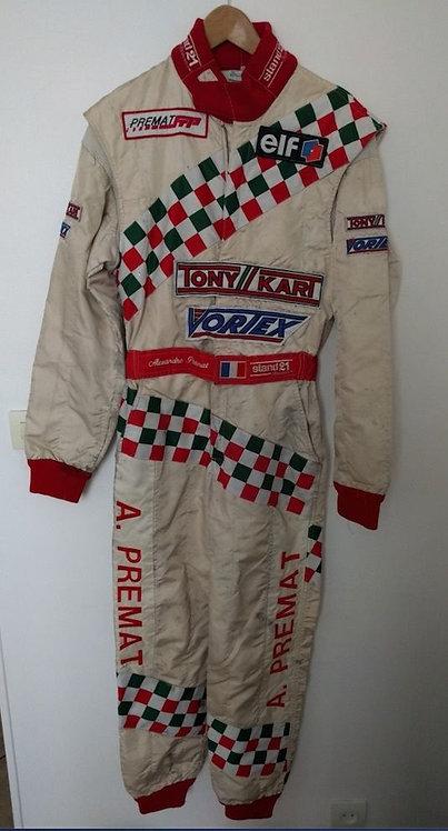 Race suit Driver used Alexandre Premat