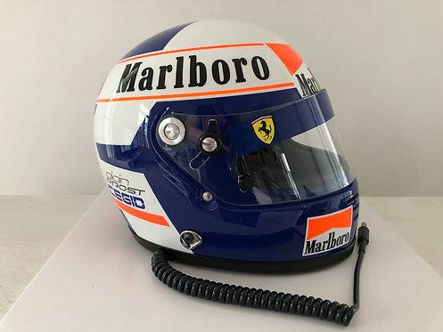 Helmet Replica Ferrari F1 - Alain Prost - 1990 - Arai