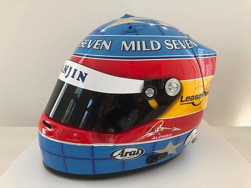 Helmet replica Official - Fernando Alonso - Renault F1 2003 - Arai GP5