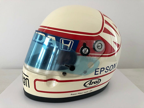 Helmet Replica F1 - Satoru Nakajima - Tyrrell Honda F1 1991 - Arai