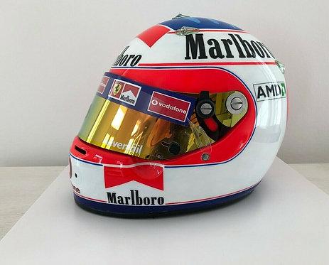 Helmet replica - Rubens Barrichello - Ferrari 2002 - Arai GP5