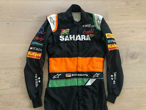 Original Race used suit - Nico Hulkenberg - Force India F1