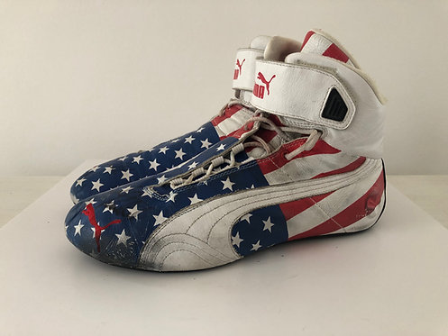 Race Shoes used - Graham Rahal - Indy Car Newman Haas - Puma