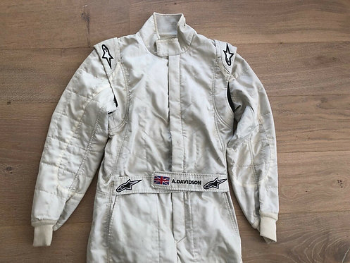 Original Suit testing F1 - Anthony Davidson - Brawn