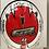 Thumbnail: Race used helmet - Graham Rahal - Sebring 2010 / Corvette - Testing Indy Car