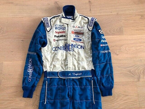 Race used suit Indy Car - Alex Tagliani - Rocketsports 2003