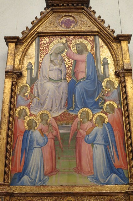 150フィレンツェ派画家「聖母戴冠」15世紀.jpg