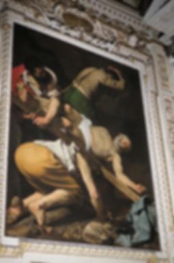 カラヴァッジョ「聖ペテロの磔刑」③.jpg