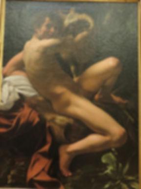 105カラヴァッジョ「洗礼者ヨハネ」Ⅱ.jpg