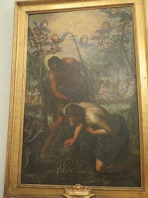 126ドメニコ・ティントレット「キリストの洗礼」.jpg