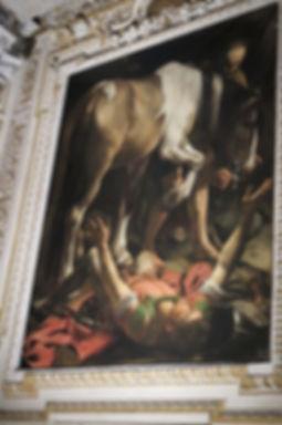 カラヴァッジョ「聖パウロの改宗」⑤.jpg