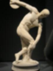 ローマ美術館・マッシモ宮 「パロンバーラの円盤投げ」1.jpg