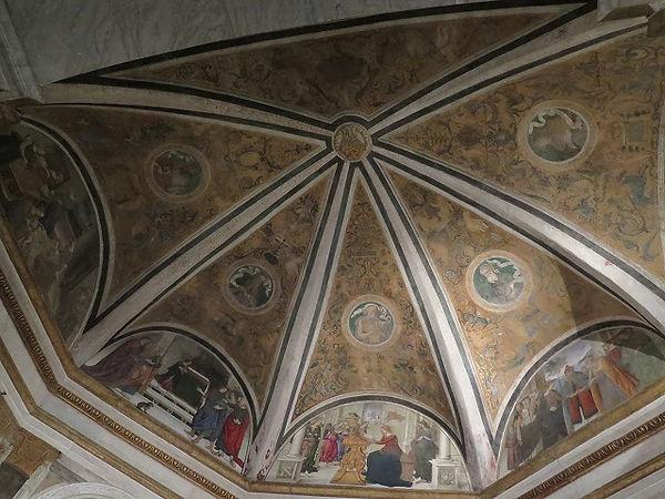 ピントゥリッキオと弟子たち「アーチ形天井の三日月形部分」3.jpg
