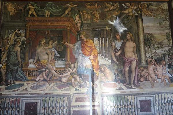 ソドマ「アレクサンドロス大王とロクサネの結婚の部屋」.jpg
