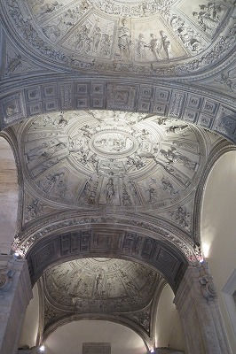 07コンセルヴァトーリ宮のしっくい仕上げのアーチ形天井Ⅱ.jpg