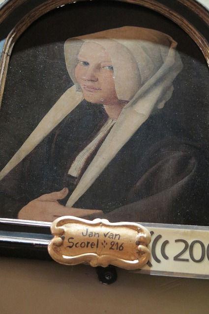 15 ヤン・ファン・スコーレル「アガサの肖像」②.jpg