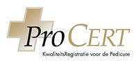 ProCERT logo voor gebruik door derden (h