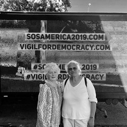 Rosalie and Bhuvan stand with #VigilForD