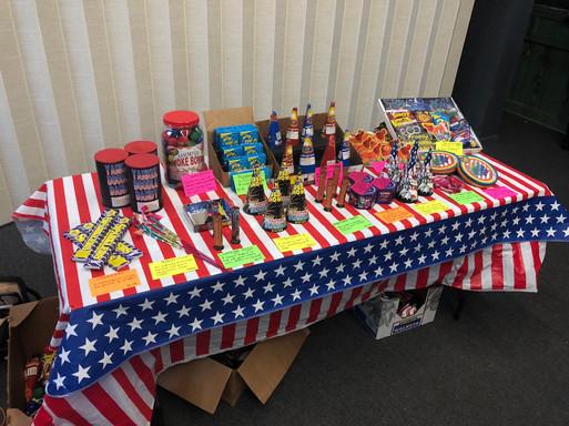 Custom Fireworks Stand