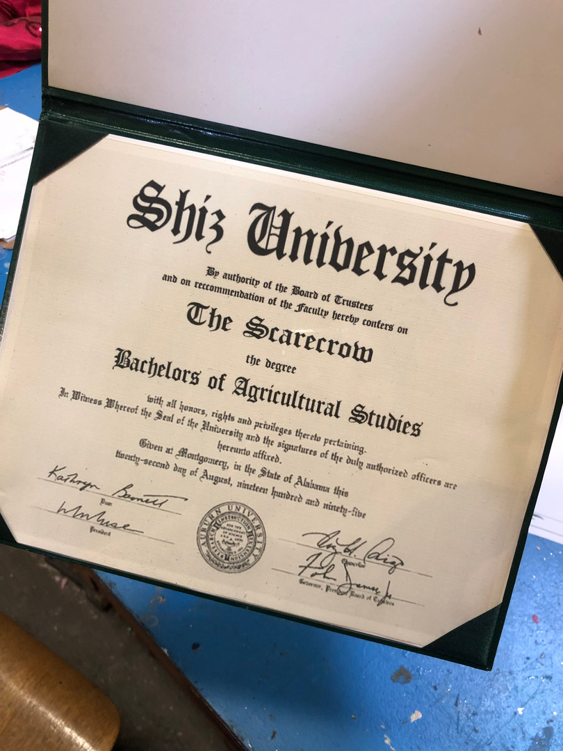 Scarecrow Diploma