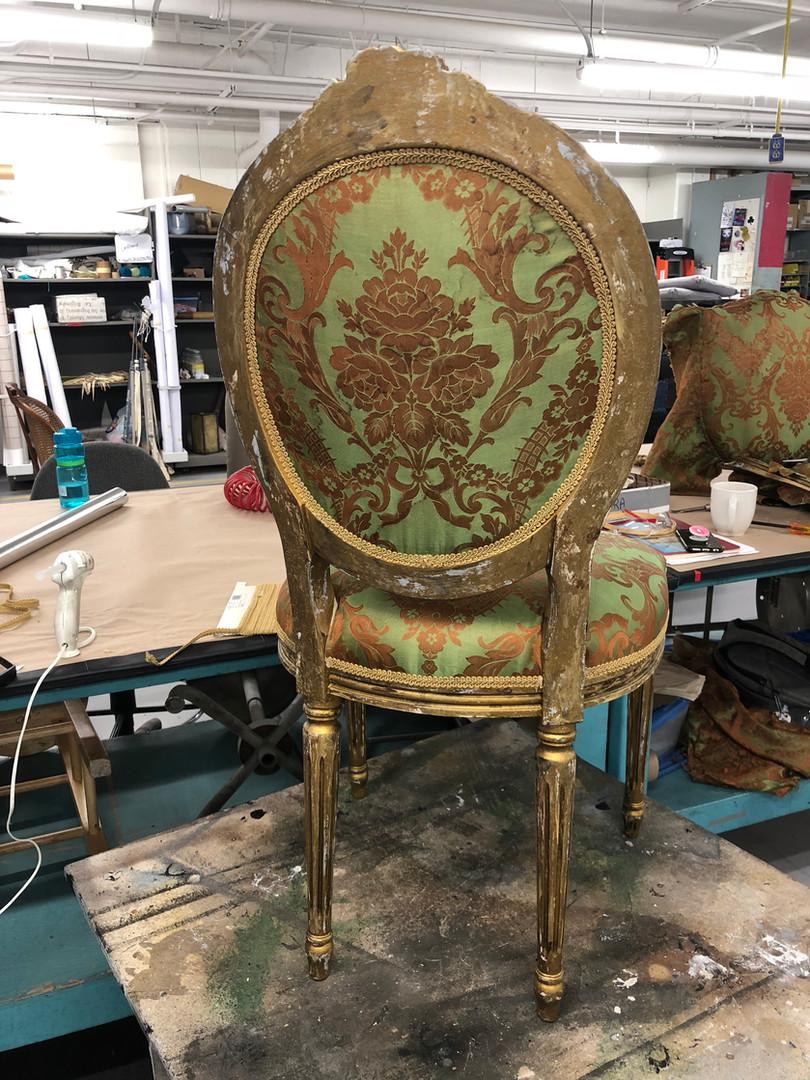 Upholstered Chair Back