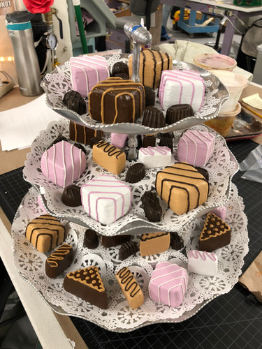 1950s Dessert Tray