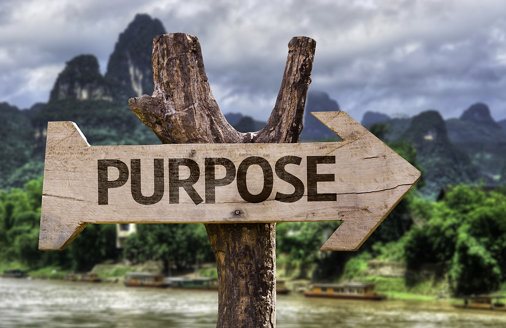To move forward and get what you want aligned your passion and purpose