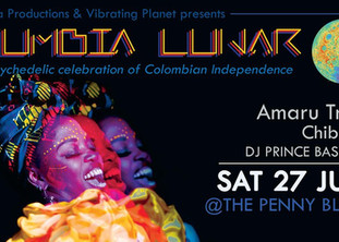 Cumbia Lunar | Sat 27 July @The Penny Black