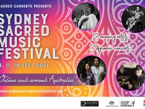 Sydney Sacred Music Festival - Concert 1- Online & Around Australia - SSMF 2021