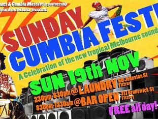 Cumbiafest | Sun 19 November