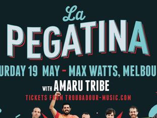 La Pegatina returns!