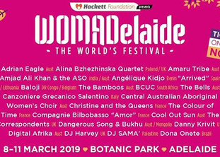 Womadelaide 2019 | Dates: 8- 11 March 2019