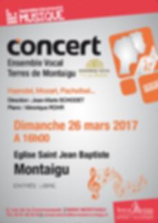 Concert Ensembe Vocal des Terres de Montaigu