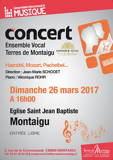 Concert Ensembe Vocal des Terres de Montaigu