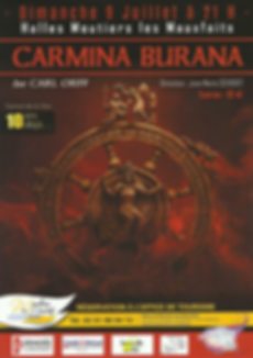 Carmina Burana, Festival de la Voix, Carl Orff