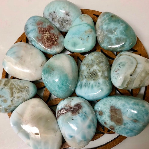 Larimar Polished stone