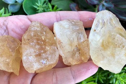 Raw Citrine stones